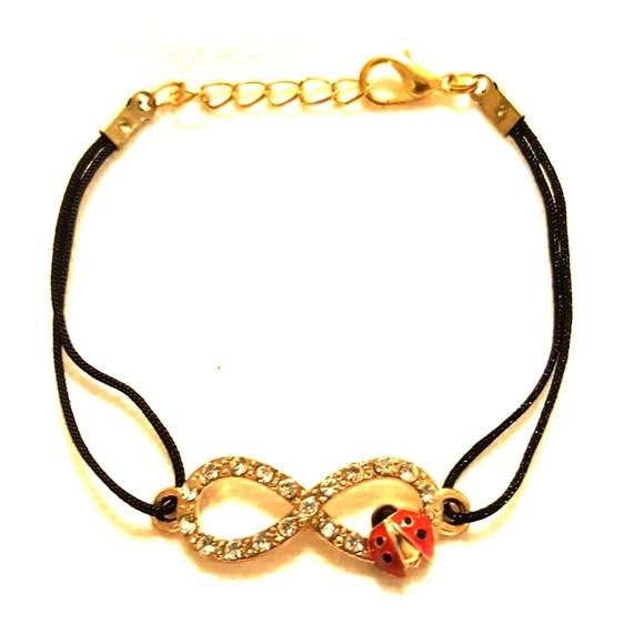Jewelry Eternity Symbol With Lady Bug Bracelet Poshmark